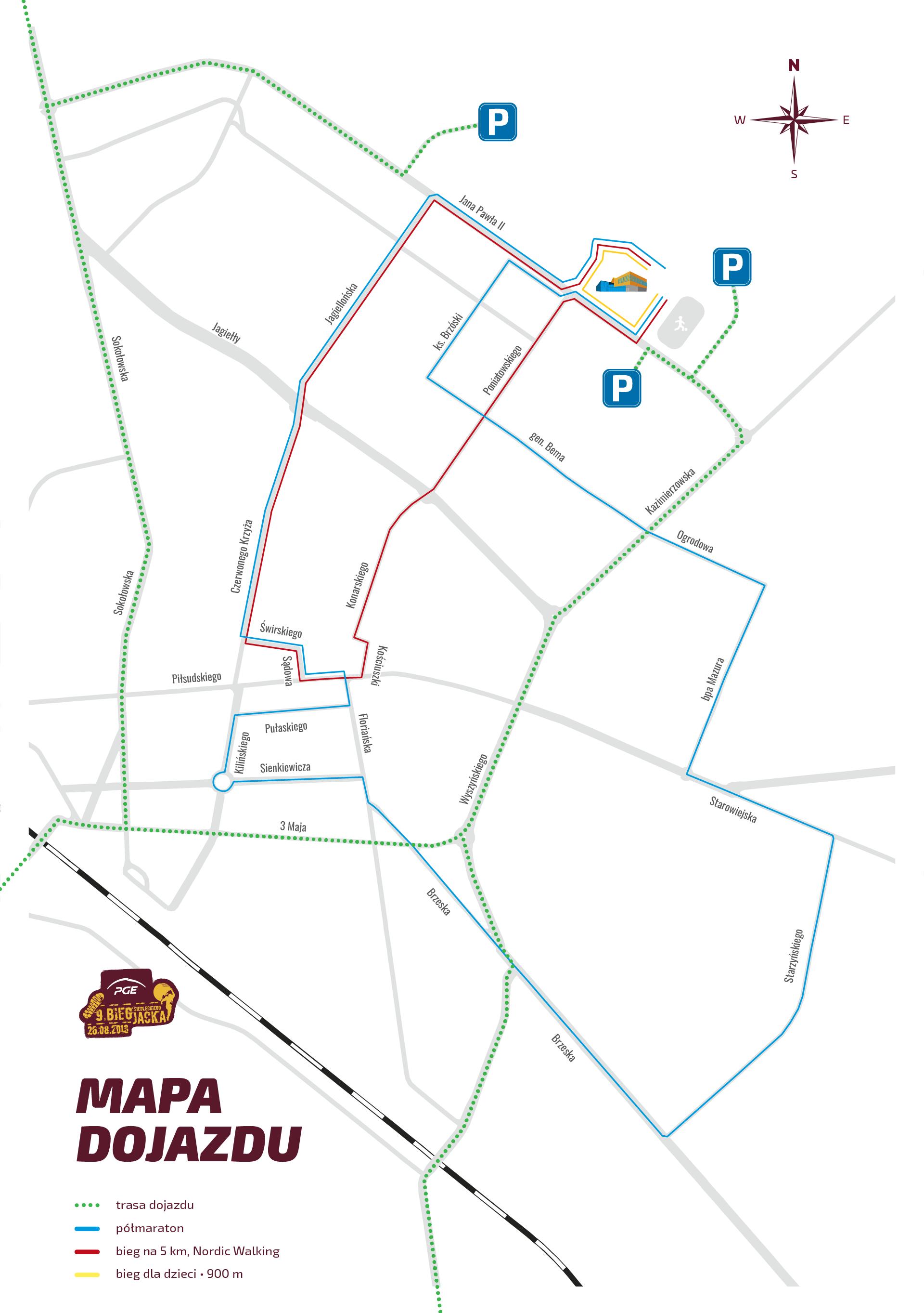 BSJ2018 - mapa dojazdu