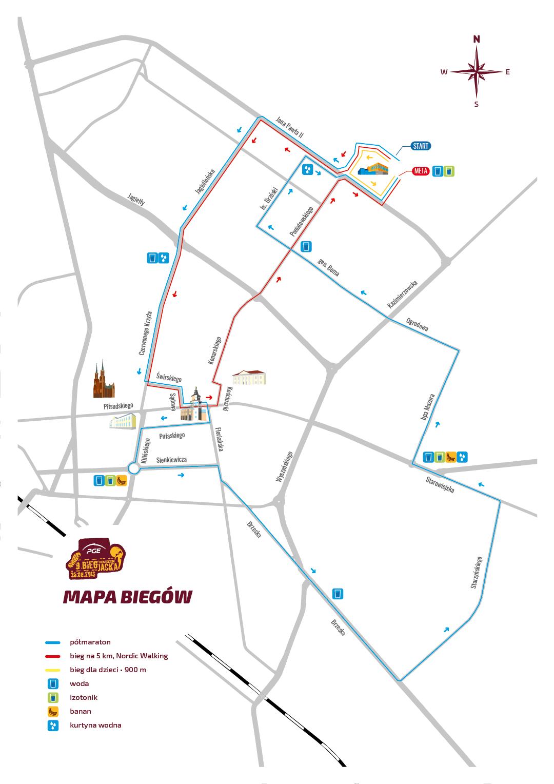BSJ2018 - trasy biegów